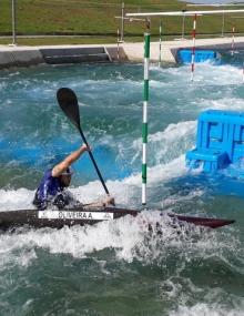 Training Rio Canoe Slalom