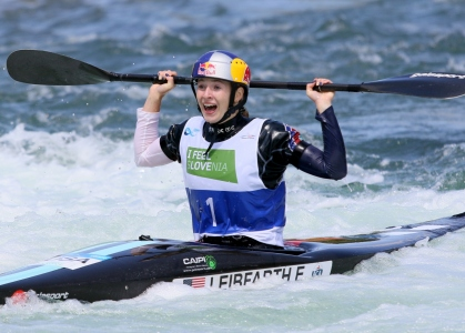 USA Evy Leibfarth kayak slalom juniors Tacen 2021
