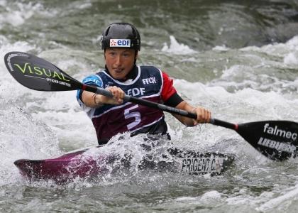 France Camille Prigent canoe slalom Pau 2021