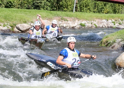 France C1 team wildwater world championships La Seu 2019