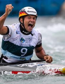 Germany Franz Anton C1 gold Rio World Championships 2018