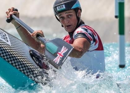 Great Britain Mallory Franklin canoe Tokyo Olympics