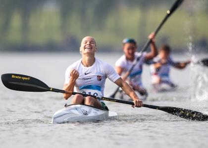 Hungary Vanda Kiszli canoe marathon Shaoxing 2019