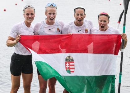 Hungary women K4 Tokyo Olympics