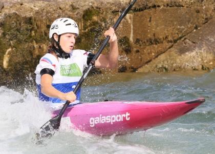 Slovakia Ivana Chlebova junior K1 Tacen 2021