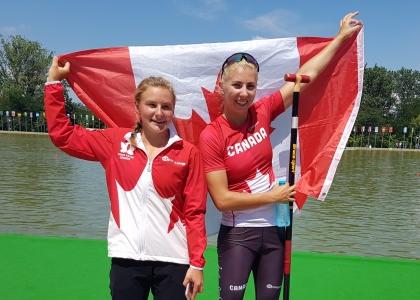 Canada Sophia Jensen Katie Vincent Plovdiv 2018