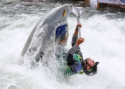 USA Jordan Poffenberger canoe freestyle Sort world championship 2019