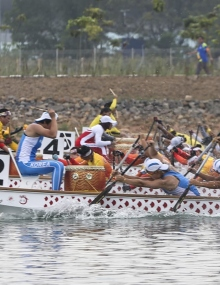 Unified Korea dragon boat Asian Games Indonesia 2018