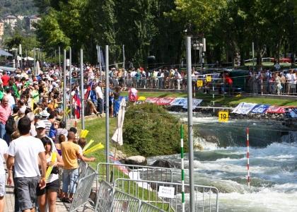 La Seu Spain canoe slalom