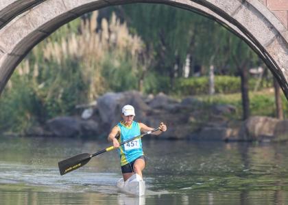 Ukraine Liudmyla Babak canoe marathon Shaoxing 2019