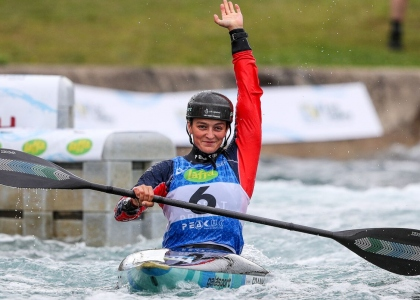 Great Britain Mallory Franklin K1 women Lee Valley 2019