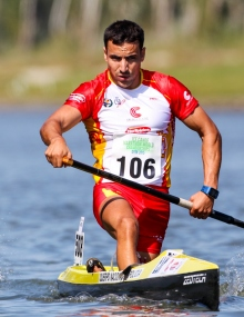 Spain Manuel Campos canoe marathon