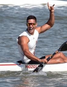 Hungary Milan Mozgi canoe sprint