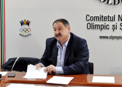 Moldova Kayak Canoe Federation President Iacob Buhna