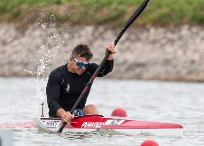 New Zealand paracanoe Corbin Hart Szeged 2021