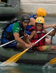 Rafting in Rio