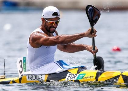 Refugee athlete Saeid Fazloula Tokyo Olympics