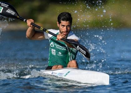 Refugee athlete Saeid Fazloula