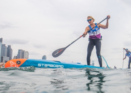 Germany Sonni Honscheid stand up paddle China
