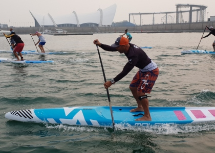 Canada Tamas stand up paddling world championships Qingdao 2019 SUP