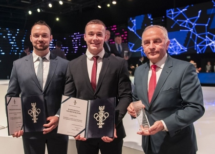 Poland Bartosz Grabowski Olympic Committee awards 2018