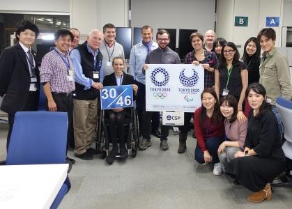 Tokyo 2020 canoe sprint homologation team