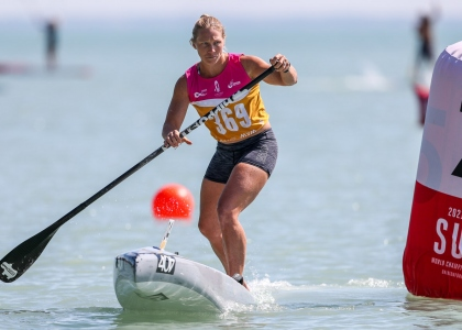 USA April Zilg stand up paddling world championships 2021