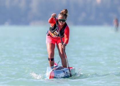 USA Fiona Wylde SUP Balaton world championships 2021