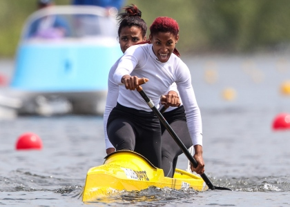 2021 ICF Canoe Sprint World Cup Barnaul Yarisleidis CIRILO DUBOYS, Katherin NUEVO SEGURA
