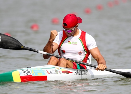 Portugal Fernando Pimenta K1 1000 Szeged 2020