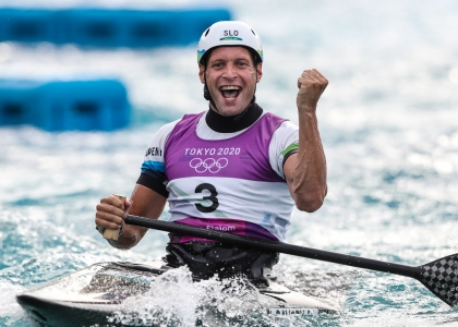 Slovenia Benjamin Savsek C1 canoe slalom Tokyo Olympics