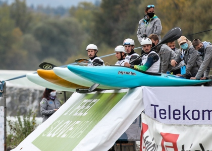 Slovenia extreme slalom start 2020