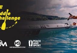 ICF Paddle Challenge Canoe Virtual Competition Online Entry Rotomond Kayak Session Peace and Sport Charity