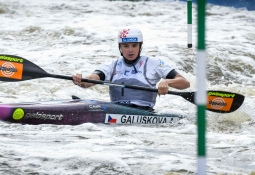 Czech Antonie Galuskova K1 qualifiers junior world championships Krakow 2019