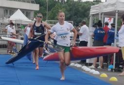 Czech Vanda Kiszli canoe marathon world cup France 2021