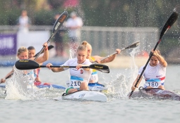 Hungary Vanda Kiszli canoe marathon