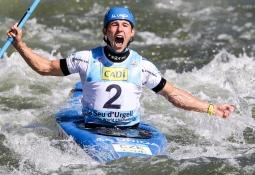 Czech Jiri Prskavec men's K1 La Seu 2019