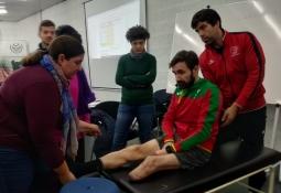 Paracanoe classifiers workshop Portugal