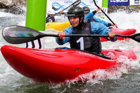 2018 ICF Canoe Slalom World Cup 1 Liptovsky Slovakia Extreme