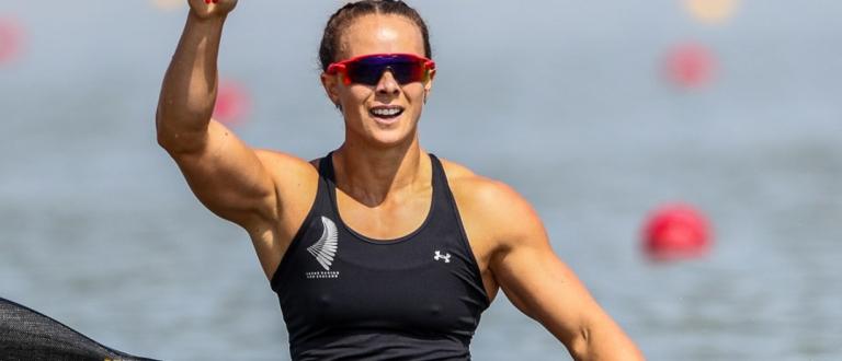 New Zealand Lisa Carrington K1 200 Szeged 2019