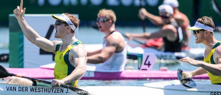 Australia K2 1000 Green van der Westhuyzen Tokyo Olympics