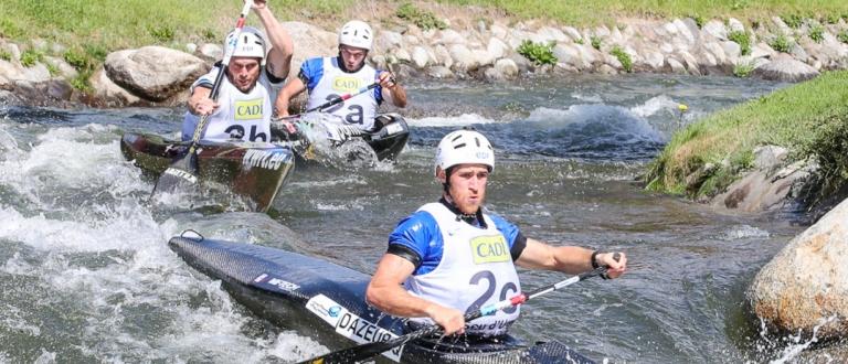 France C1 team wildwater world championships La Seu 2019