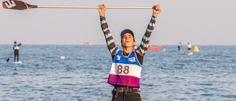 France Olivia Piana stand up paddle world championships Qingdao 2019 SUP