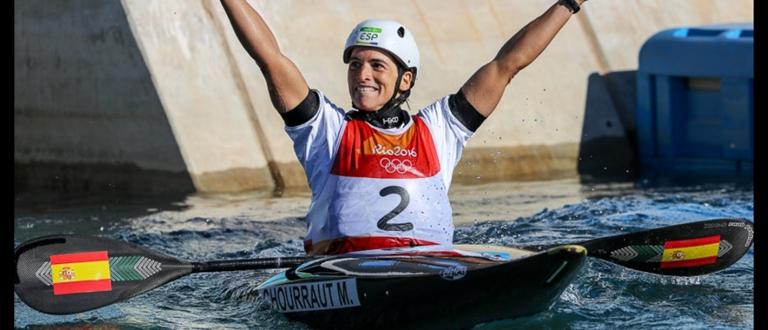Maialen Chourraut Spain K1 Rio 2016 Olympic Gold