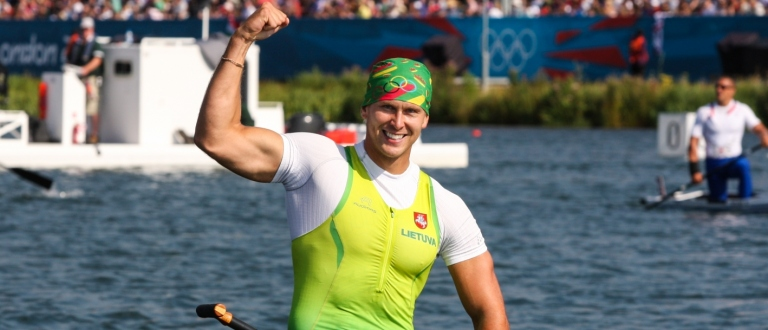 Lithuania Igor Shuklin London 2012 C1 200 Olympics