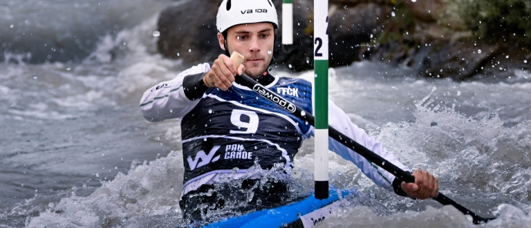 Ireland Liam Jegou C1 canoe slalom Pau 2020