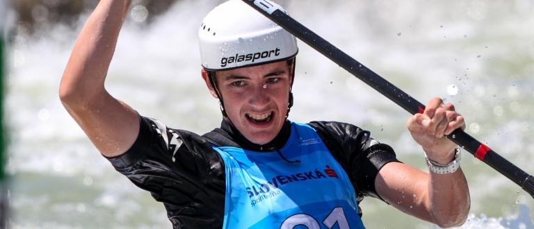 New Zealand Jack Egan canoe slalom junior