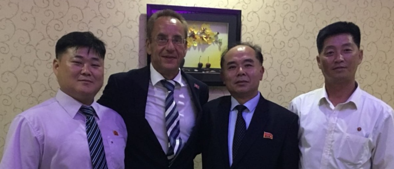 ICF Vice President Thomas Konietzko North Korea canoe officials