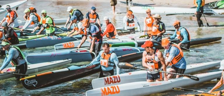 2019 Atlantic Ocean race start Lanzarote