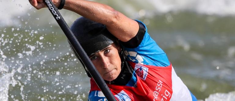 2019 ICF Canoe Slalom World Cup 4 Markkleeberg Nuria VILARRUBLA